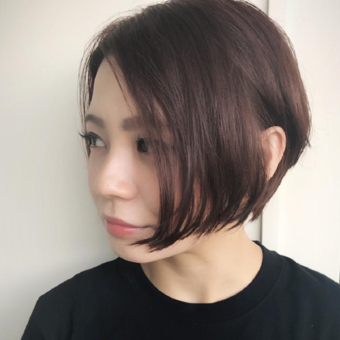 ベッキー 髪型 ショートボブ