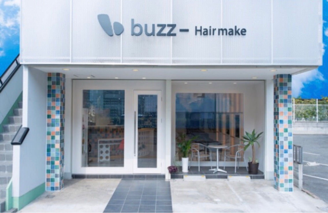 buzz hair make