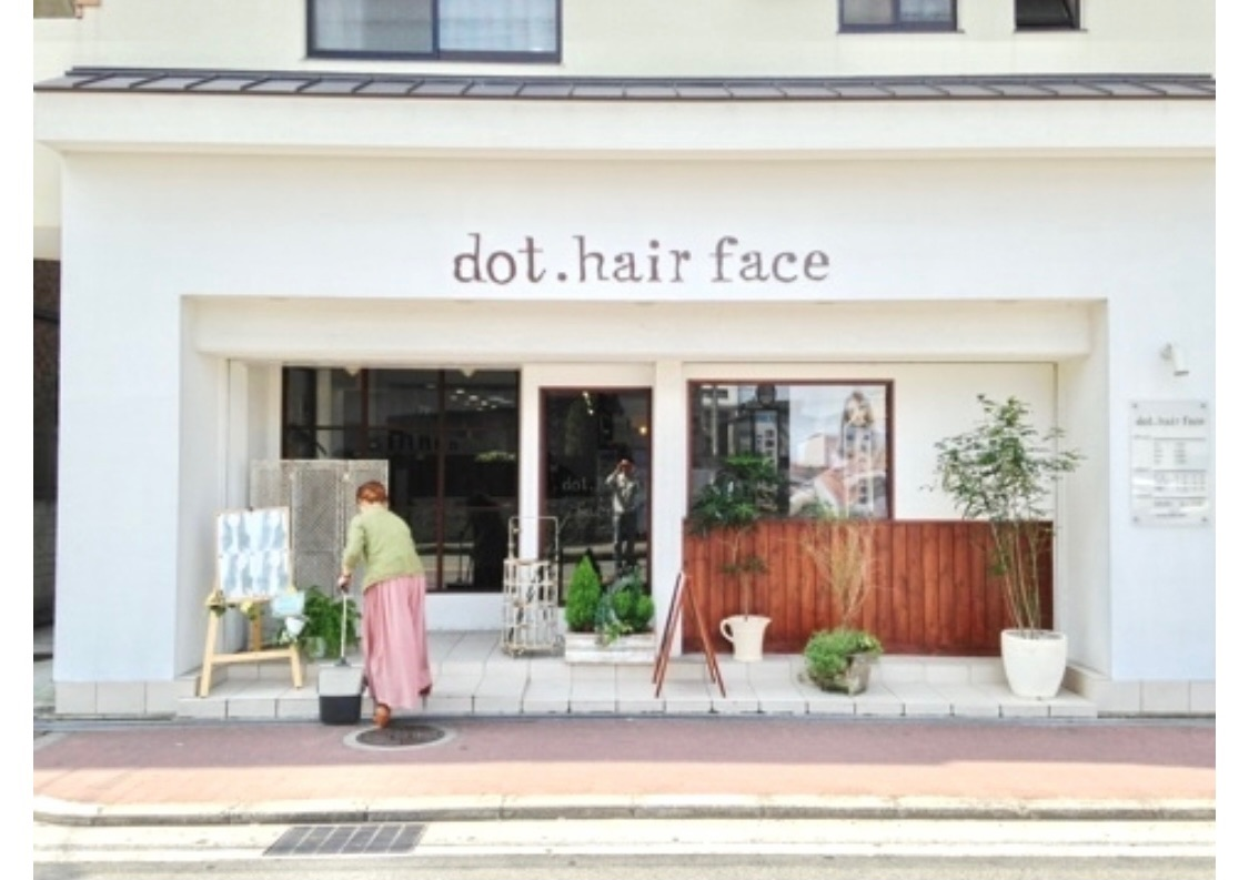 dot.hair  face