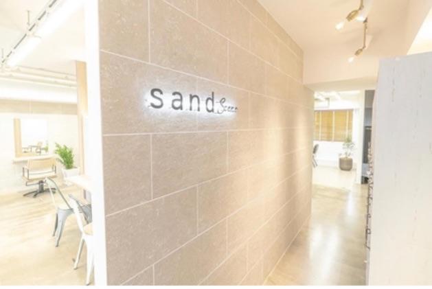 sand    scene