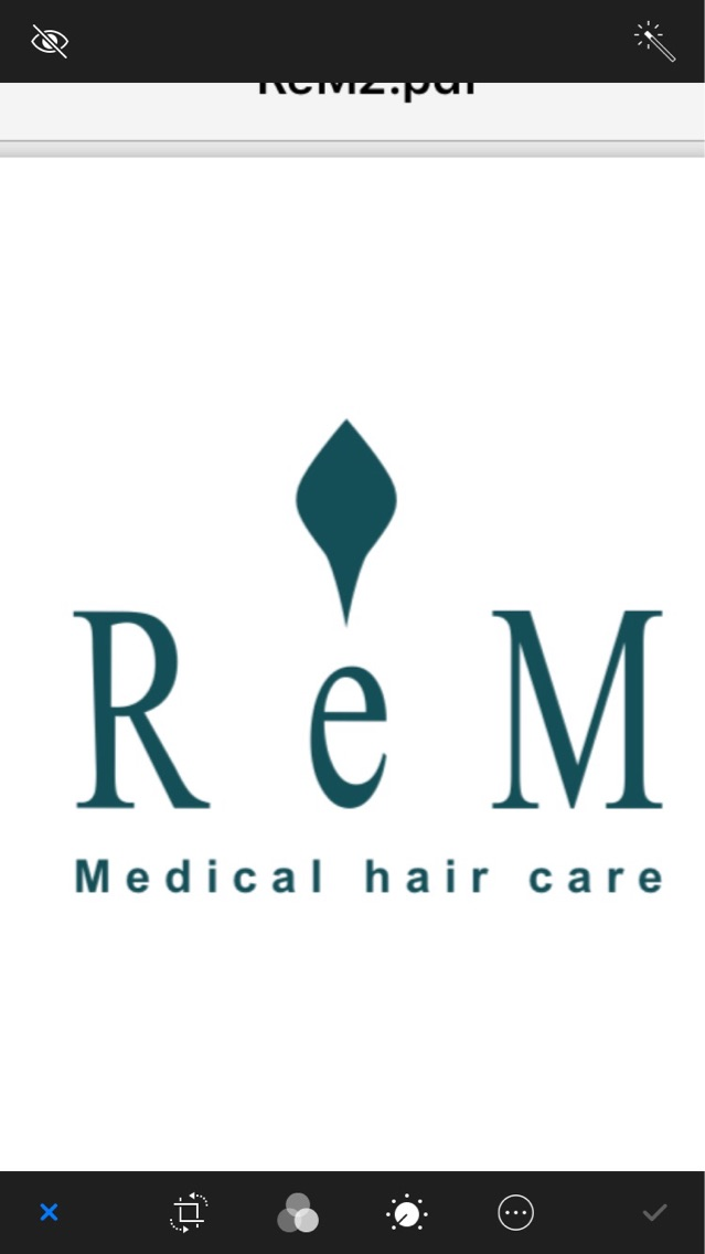 ReM medical hair care