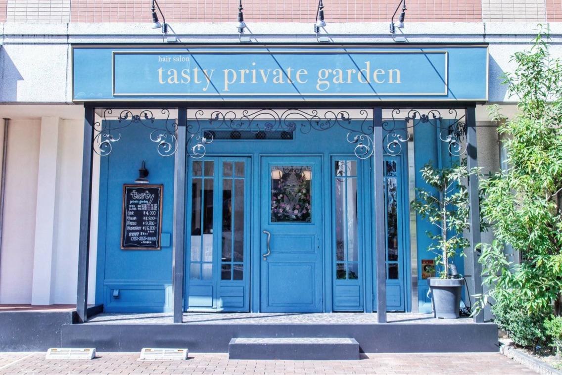 Tasty private garden