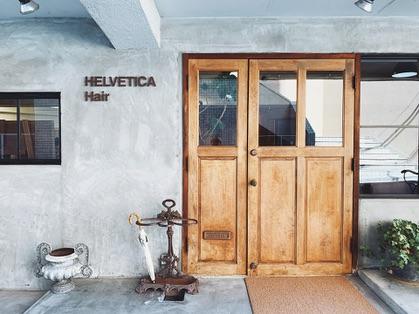 Helvetica hair