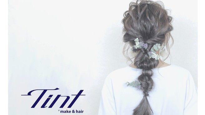 Tint hair&make