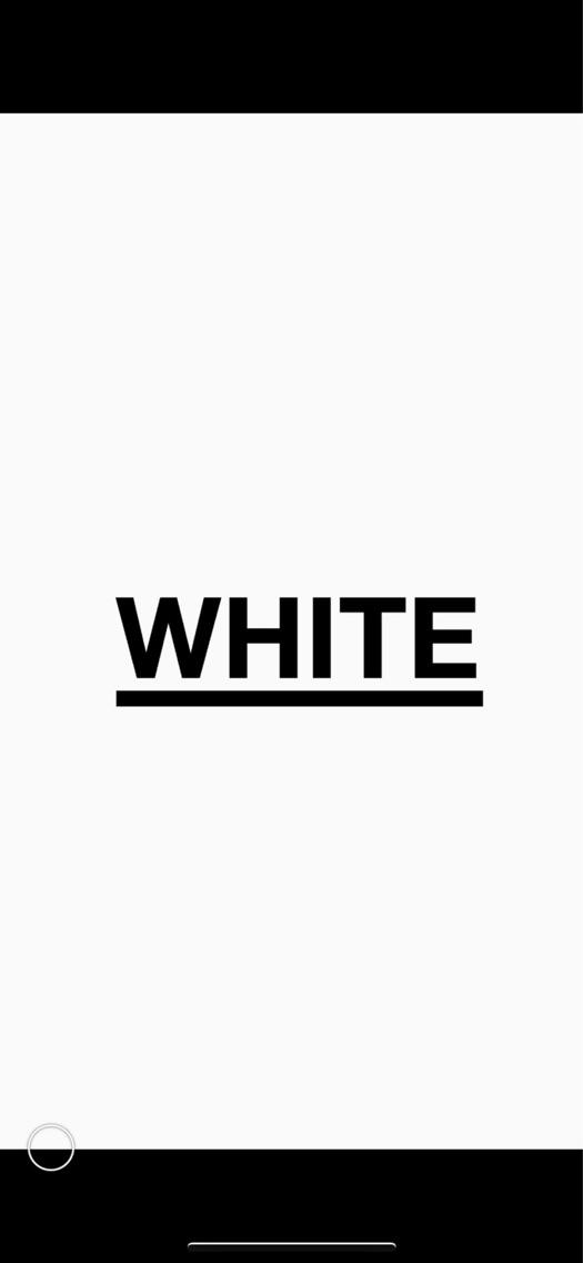 _WHITE   原宿店