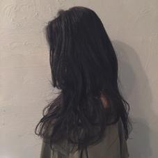 就活などにもぜひ!黒染めではなく深いアッシュでおそめするので次回明るくすることも可能です! hair design Glanz所属・大垣めぐみのスタイル