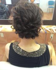 結婚式のヘアセット♪ カジュアルなものからパーティ寄りのスタイルなど任せてください! Neolive7所属・池添晃のスタイル