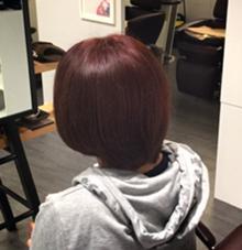 【ツヤ感】12トーンのレッドバイオレット Cockney Hair&Beauty所属・斎藤吾内のスタイル
