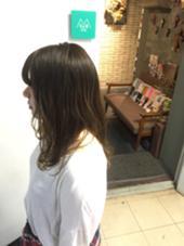 #ナチュラルグラデーション hair studio menos所属・黒岩葉のスタイル
