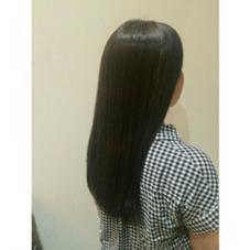 ブリーチ毛を透明感のあるダークアッシュに… NAP hair所属・佐藤杏丸のスタイル
