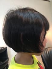 kids! ふんわりやわらかく仕上げました! Fine's Hair BOW所属・大谷佳江のスタイル