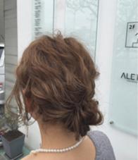 結婚式アレンジ☆ ALETTA  HAIR objet(アレッタヘアオブジェ)所属・小西大貴のスタイル