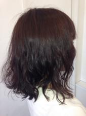 肩にあたると跳ねてしまう髪をパーマで落ち着かせました。 beauty:beast廿日市店所属・佐原貴之のスタイル