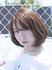 ワンカールボブ☆ モリオフロムロンドン原宿本店所属・佐久間大貴のスタイル