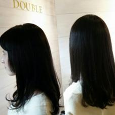 トーンダウン double hairdesign所属・林亜美のスタイル