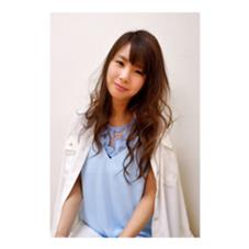 透明感のツヤカラー ヘアーショップドルフィン所属・岩渕彩香のスタイル