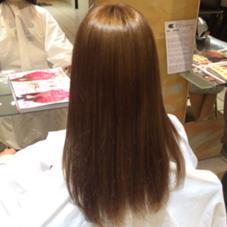 赤味を抑えたマット系カラー creelu江坂店所属・富浦茉里奈のスタイル