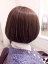 3Dカラーです( ´ ▽ ` )ノシーズンカラーのフレンチセピアアッシュを使わせていただきました‼️優しい印象で春にはピッタリです 松本平太郎美容室    青山店所属・鈴木知佳のスタイル