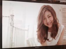 アッシュ系ベージュカラー Lee      弁天町店所属・西田美保のスタイル