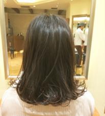 赤みの出がちなバージン毛を透け感カラーで小洒落たナチュラル透け感カラー! B…所属・はせがわこうすけのスタイル