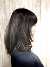 ツヤと透明感バツグン☆メタリックアッシュ☆ hair Grace  Daisy所属・GraceDaisyのスタイル