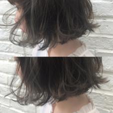 カラー ショート 髪の毛をこれ以上痛ませたくない。  イルミナカラー。  ダメージレスなのにこの透明感。