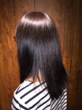 気になる白髪も綺麗にカラー♪ ツヤツヤになりました♪ Villa×terrace所属・田中秀のスタイル