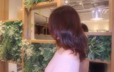 カラーは春っぽいベリーピンク♪ 動きが出るようにレイヤーを入れました! 永倉梨奈のスタイル