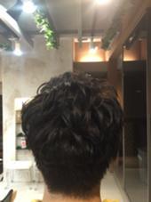 マッシュベースのパーマスタイル^ ^ Hair resort Ai 上野店所属・富樫光のスタイル