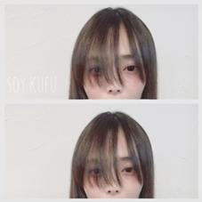 いま大流行中のウザバングにカット☆とてもお似合いです☆ soy-kufu所属・隅優香のスタイル