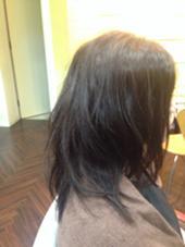 くせ毛を活かしたゆるふわパーマ風スタイル ふるいさちのスタイル