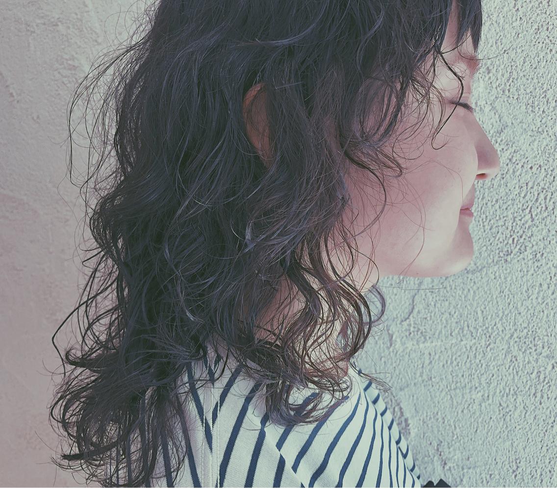 ウルフカット × ハードパーマ|Kanon by MODEK\u0027s所属・森内未来