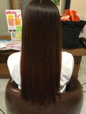 濃いめに入れたグラデーション!! 色落ちも楽しめます Hair Garden Riesort所属・和泉勇輝のスタイル