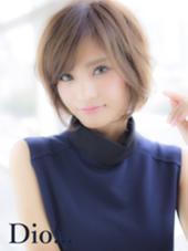 軽めで、大人なショートレイヤーボブ☆  Tokyo hair salon  Dio所属・加藤瑛のスタイル