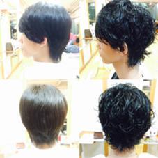メンズパーマ!Before、after! Field所属・吉野麻央のスタイル