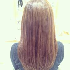 カット Aujuaトリートメントで ツヤツヤ髪に変身です♡ ¥3500 アパカバール北花田店所属・中川莉沙のスタイル