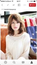 外国人風ミディー! カラーはベージュ系にローライトを DECO所属・hozumisatoshiのスタイル