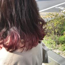 シースルーカラー×レッドピンク STYLE  BEAUTY & COSMETICS所属・都甲菜穂のスタイル