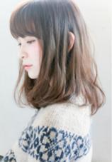 ふんわりワンカールのナチュラルスタイル。 透明感のあるカラーリングもお任せください♪ 代官山/恵比寿所属・shotasatoのスタイル