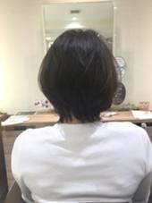 ロングだった髪をばっさり!! ふんわりとしたスタイルに! Ash 中山店所属・高梨ひかるのスタイル