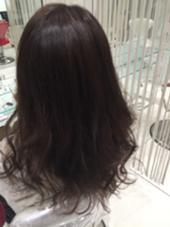 ✨ダークグレージュ✨ RYO-のミディアムのヘアスタイル