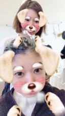 名古屋から高校の友達が来てくれました(涙) hair musee 柱店所属・山本夏菜のスタイル