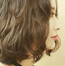 #ドレープパーマ#で大人の透明感を♡ kingdom所属・高岡秀和のスタイル