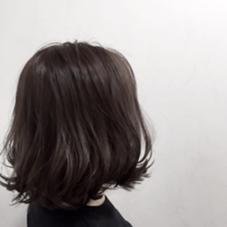 透明感✳︎グレージュ✳︎ダーク イマドキ女子の定番カラー POSH 門前仲町店所属・福永絵莉香のスタイル