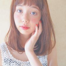 カット カラー ストレートパーマ つやつやナチュラルストレートパーマ⭐︎ CANAAN所属・山本麻美のスタイル