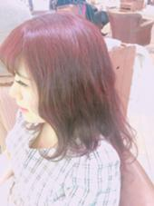 cherry red color com by neolive  草加店所属・江原彩華えばらあやかのスタイル