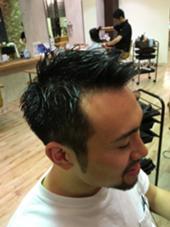 メンズ刈り上げスタイル スッキリショート  ヴィサージュ ユニール所属・佐々木雄大のスタイル