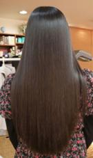 たった一回の施術で! こんなに綺麗な髪に変わります。 ミラーゾーン美容室所属・ミラーゾーン美容室のスタイル