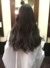 毛先グラデーションのみでブリーチを 2回致しました♪ natural control所属・香川奈月子のスタイル
