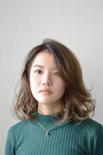 ミディアムボブ×ふんわりパーマ☆ gem hair&makeup所属・藤田毅徳のスタイル